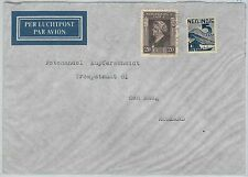 63966  - DUTCH INDIES - POSTAL HISTORY: COVER to the NETHERLANDS - 1947