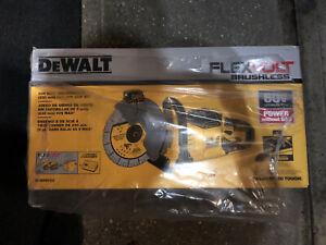 """Dewalt DCS690B 60 volt Flexvolt  9"""" Cut Off Saw w 2 Blades (bare tool) Open Box"""