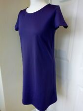 Oasis Dress Size 12 Purple Short Sleeve