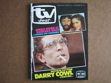 TV JOUR 81/37 (16/9/81) RINGO STARR DARRY COWL BACH