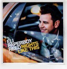 (GI185) Eli Paperboy Reed, Nights Like This - 2014 DJ CD