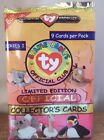 1998 TY Beanie Babies Official Club Limited Edition Collectors Series 1 Cards