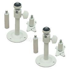 "2x Universal 2-6"" Metal Tilt Security Camera Mount Bracket Wall Ceiling CCTV 1sh"