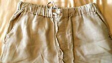 Martin Gordon Beige Brown 100% Linen Pant Men's Size L NWOT
