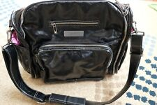 Ju Ju Be Legacy Collection Be Fabulous Diaper Bag Black Messenger Tote