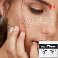 Bohemian Face Eyes Art Jewels Festival/Party/Rave Tattoo Transfers style 3 uk