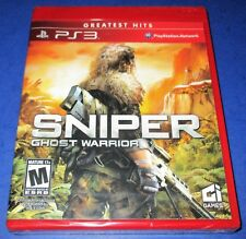 Sniper: Ghost Warrior  PlayStation 3 *Factory Sealed! *Free Shipping!