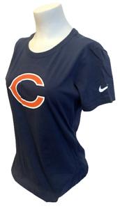 Nike Women's Chicago Bears Brian Urlacher #54 NFL Navy Slim Fit Shirt Size M