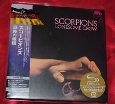SCORPIONS Lonesome Crow UICY-94516 CD JAPAN 2010 DELUXE AUDIOPHILE Pressing !