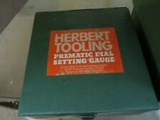 New listing Herbert Tooling Prematic 1st Oversize Standard Right Hand Dial Setting Gauge