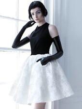 CARLA ZAMPATTI Dress Black & White Parisienne Style Size 6