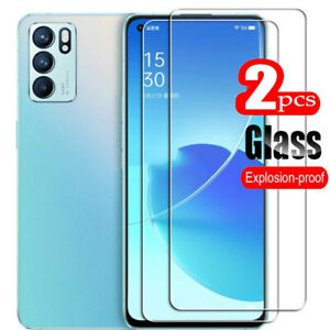 2PCS OPPO Reno 5 6 RENO 6 5G Reno5 Lite 5A 5Z Tempered Glass Screen Protector