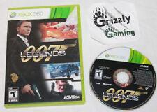 USED 007 Legends Microsoft Xbox 360 (NTSC) -Canadian Seller-