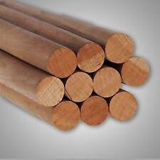 "Pack of 10 Round Hardwood Dowel Rods 1-1/8"" Dia x 36"" Long 7318U C.C. Pink"