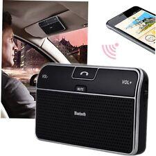 Bluetooth 4.0 Hands-free Multipoint Speakerphone Speaker Car Kit Sun Visor MB