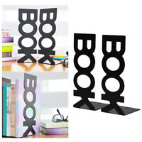 2pcs Lightweight Bookend Frame Retro Book Stand Rack Organized for Home Office