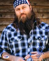 WILLIE ROBERTSON SIGNED AUTOGRAPHED 8x10 PHOTO DUCK DYNASTY PSA/DNA