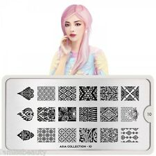 MoYou London Asia Collection Schablonen Stamping Nail Art 1