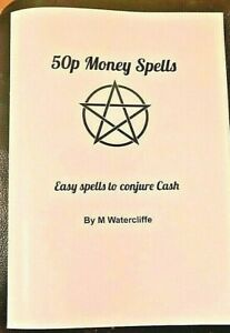 50p Money Spells Easy Ways to Conjure Cash Book Witchcraft Magick Rare Grimoire