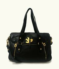 MARC by Marc Jacobs Petal to the Metal Voyage Black Satchel