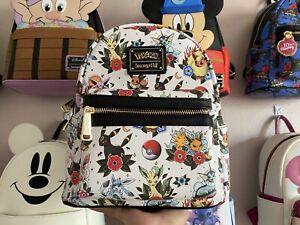 Loungefly Pokemon Eevee Tattoo Mini Backpack