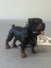 Adorable New Hood Hounds Rottweiler Rottie Dog Keychain Key Chain Mastiff Canine