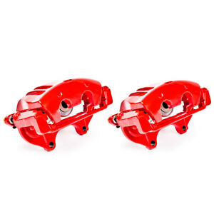 Front Red Calipers For 2012 CHRYSLER 300 DODGE CHALLENGER CHARGER