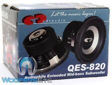 "NIB CDT AUDIO QES-820DVC 8"" HIGH DEF CAR AUDIO SMALL ENCLOSURE SUB FREE GIFT!!!"