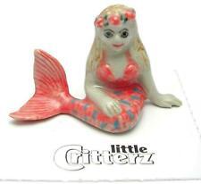 More details for little critterz miniature porcelain figure mermaid