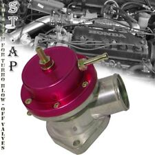 Jdm Universal Aluminum Adjustable 30 Psi Type -S Bov Turbo Blow Off Valve Red