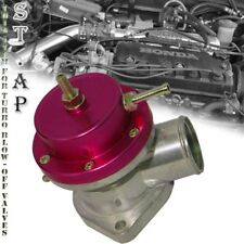 Jdm Universal Aluminum Adjustable 30 Psi Type -S Bov Turbo Blow Off Valve Red