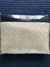 Ralph Lauren Home Greenwich Full / Queen Quilted Coverlet - Vintage Silver