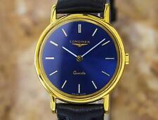 Longines Swiss Made Gold Plated Luxury Ladies Quartz Gold Dress Watch c2000 PB14