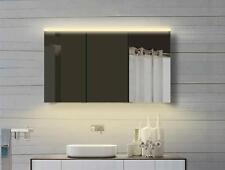 Luxaqua Aluminium badezimmer Spiegelschrank mit Led in Warm/Kaltweiß YDC120-70DP