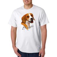 T-Shirt Gildan Nature Dog Breed Beagle Pet Lover