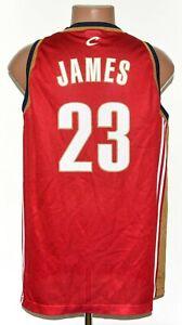 NBA CLEVELAND CAVALIERS BASKETBALL SHIRT #23 JAMES CHAMPION SIZE L ADULT