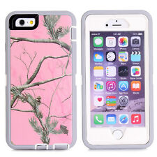 Protective Hybrid Rugged Shockproof Camo Case Cover For Apple iPhone 6 / 6 Plus