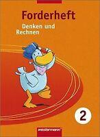 Denken und Rechnen Forderhefte: Denken und Rechnen: Ford... | Buch | Zustand gut