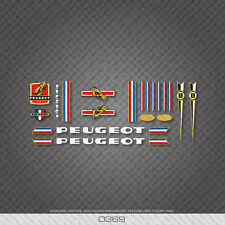 0369 Peugeot Bicycle Frame Stickers - Decals - Transfers