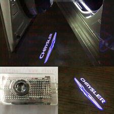 2x Led Chrysler Projector Logo Laser Door Light Bulbs For Chrysler 300 2005-18