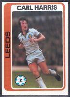 TOPPS-FOOTBALL (PALE BLUE BACK 1979)-#139- LEEDS - CARL HARRIS
