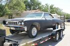 1967 Chevrolet Chevelle  1967 67 Chevelle Chevy Chevrolet Malibu 2D Sport Coupe Two Door Project Hot Rod