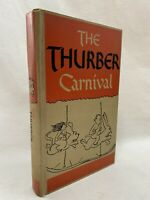 The Thurber Carnival By James Thurber ~ 1st Edition Hardcover 1945 ~ Harper