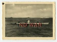 WWII ORIGINAL GERMAN WAR PHOTO KRIEGSMARINE UNTERSEEBOOT U-BOAT U-57 / U-BOOT