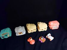 Flintstones by Amblin Lot of 8 Houses, Buildings and Cars