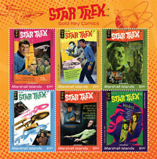 Marshall Islands 2019 STAR TREK COMICS  I201901