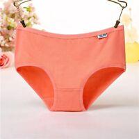 Women Cotton Low Waist Underwear Panties Briefs Underpants Knickers Lingerie