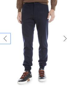 Ermenegildo Zegna Men's Drawstring Flannel Pants Size 40R US