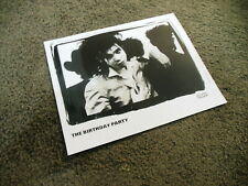 THE BIRTHDAY PARTY 4AD Press Kit 8x10 Promo Photo ONLY