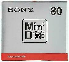 Sony MDW80T MD 80 Minutes Recordable Blank Minidisc